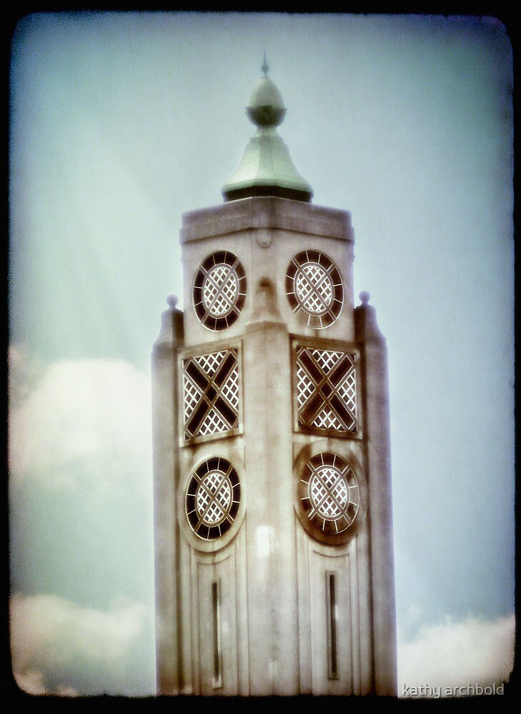 Oxo Tower by kathy archbold