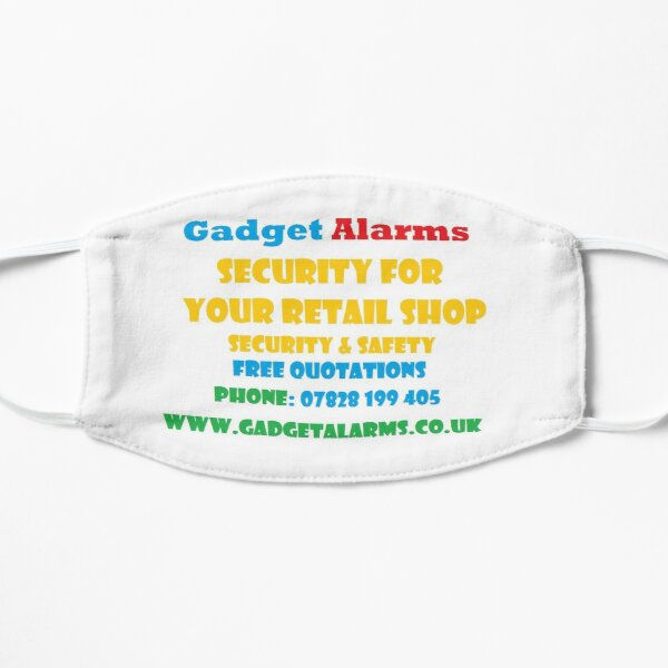 Gadget Alarms - Security & Safety Flat Mask