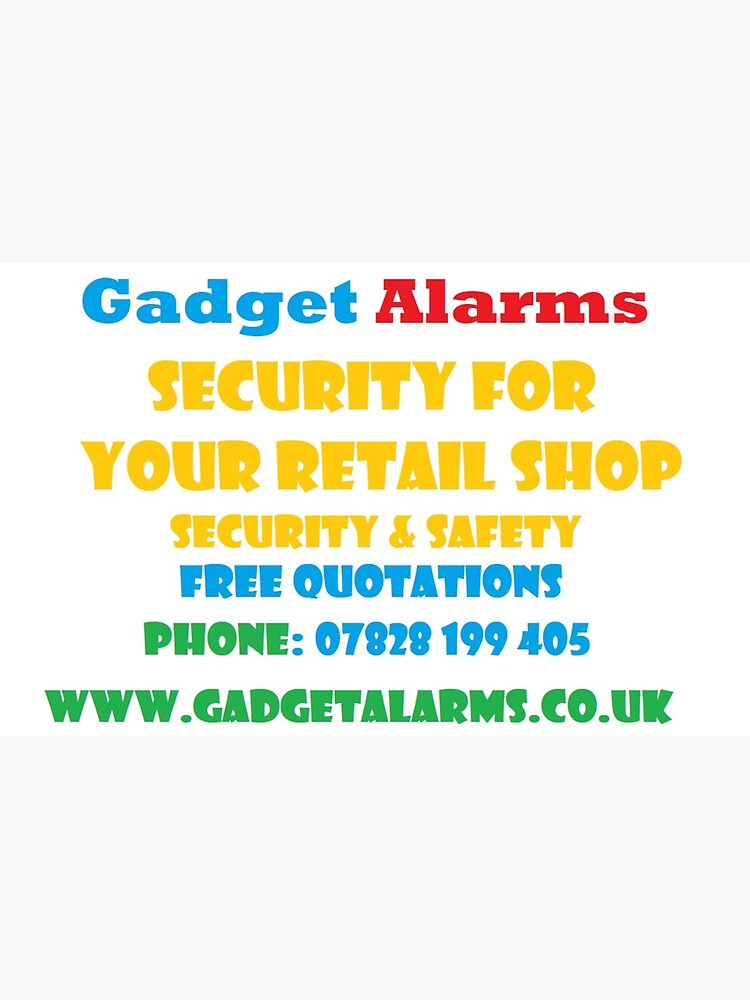 Gadget Alarms - Security & Safety by DJLancs