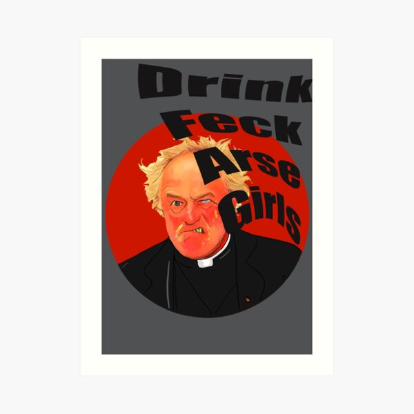 Father ted father jack Art Print