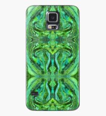 Green Abstract Paisley Teardrop Painting Pattern Case/Skin for Samsung Galaxy