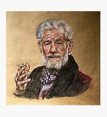 Sir Ian McKellen  Photographic Print