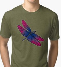 Bisexual Dragonfly Tri-blend T-Shirt