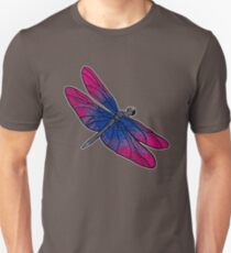 Bisexual Dragonfly Unisex T-Shirt