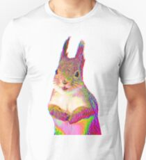 Psychedelic Squirrel Unisex T-Shirt