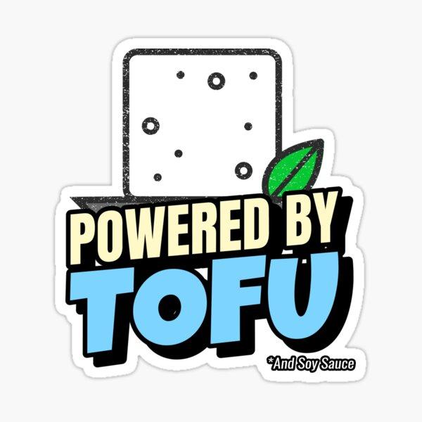 Powered By Tofu Sticker