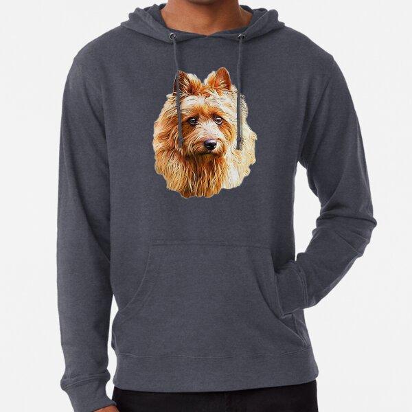 Australian Terrier Red  Lightweight Hoodie