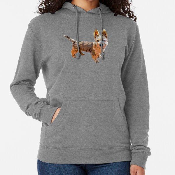 Australian Terrier Puppy Art Lightweight Hoodie