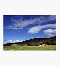 Gairnshiel Lodge, Aberdeenshire, Scotland Photographic Print