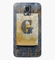 Letter G Case/Skin for Samsung Galaxy