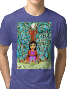 Weeping Willow Tri-blend T-Shirt