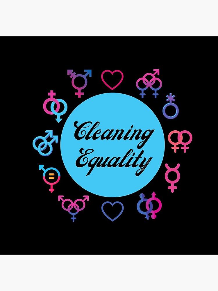 Cleaning Equality Gender Inclusive Housekeeping Pride by SavvyCleaner