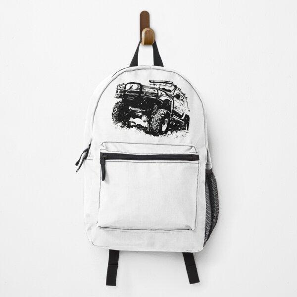 Fan Toyo Land Cruiser (Black Version) Backpack