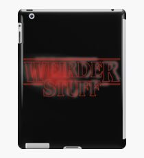 Weirder Stuff iPad Case/Skin
