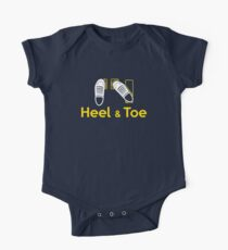 Heel & Toe (1) Baby Body Kurzarm