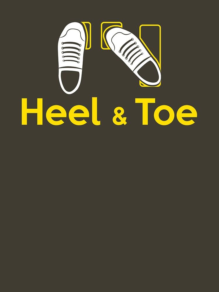 Heel & Toe (1) | Unisex T-Shirt