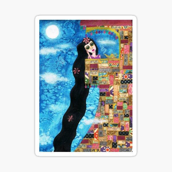 Rapunzels Moon Sticker
