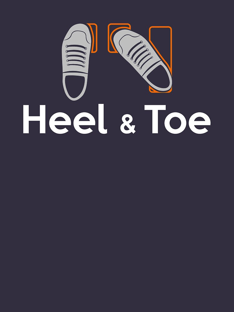 TShirtGifter presents: Heel & Toe (4) | Unisex T-Shirt