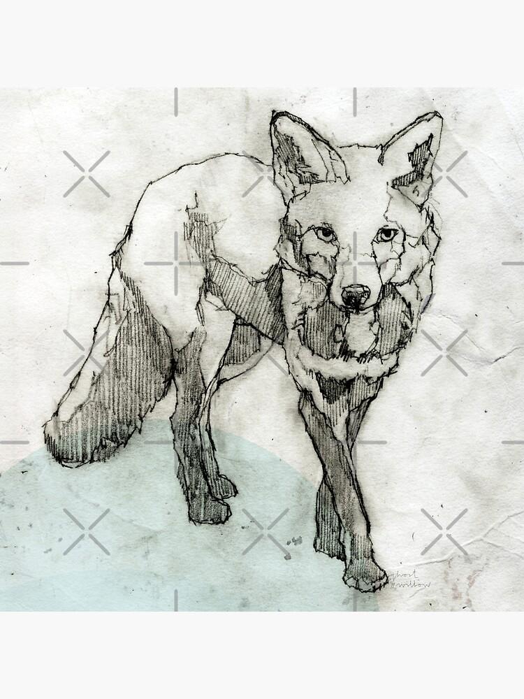 Fuchs Zeichnung von ghostwillow