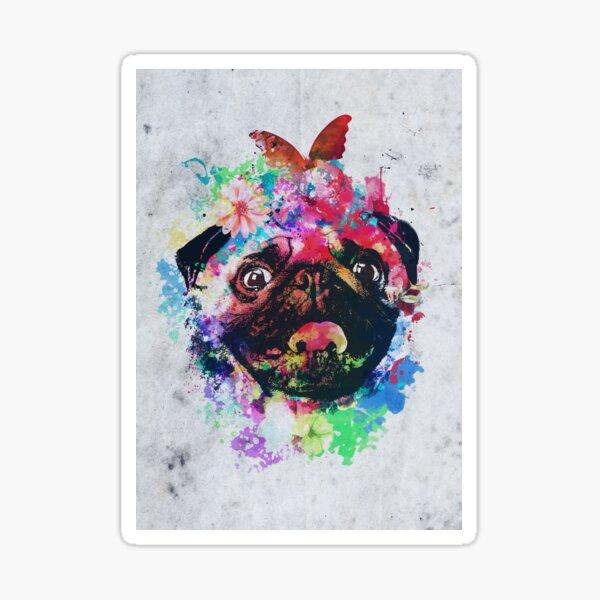 Pug Soul Sticker