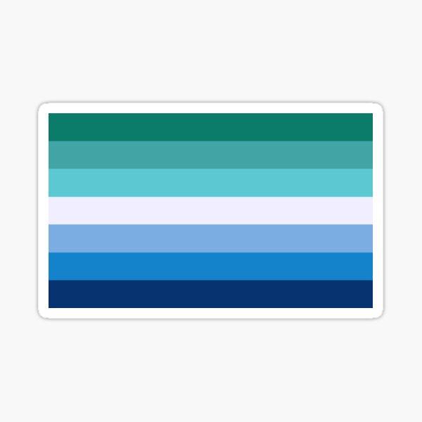 Men Loving Men (MlM) Pride Flag Sticker