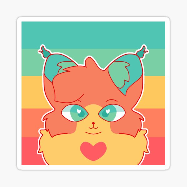 Pansexual Pride Cat Sticker