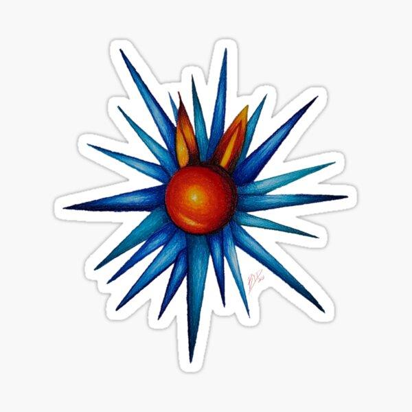 Spikes Sticker