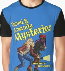 Nomi and Amanita Mysteries Graphic T-Shirt