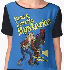 Nomi and Amanita Mysteries Chiffon Top