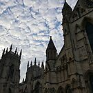 Sky over York Minster by Richard Winskill