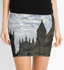 Sky over York Minster Mini Skirt