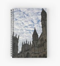 Sky over York Minster Spiral Notebook