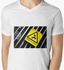 Danger of Death #2 | New Slant, Old Message Mens V-Neck T-Shirt