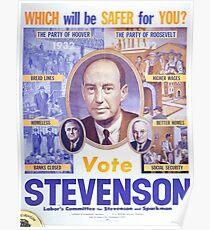 Vintage poster - Adlai Stevenson Poster