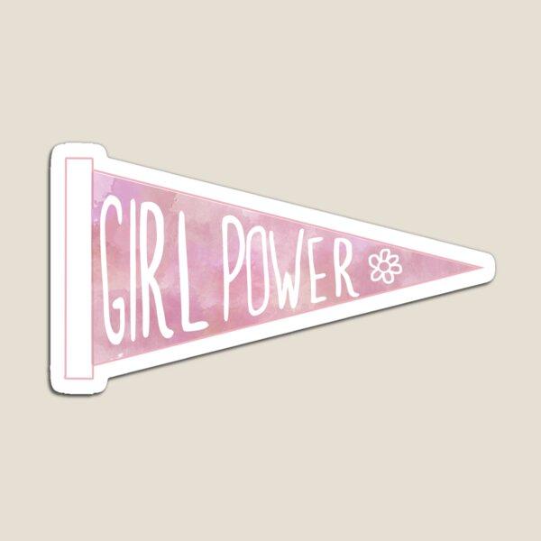 Girl Power Penant Magnet