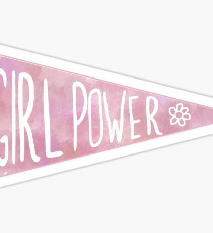 Girl Power Penant Sticker