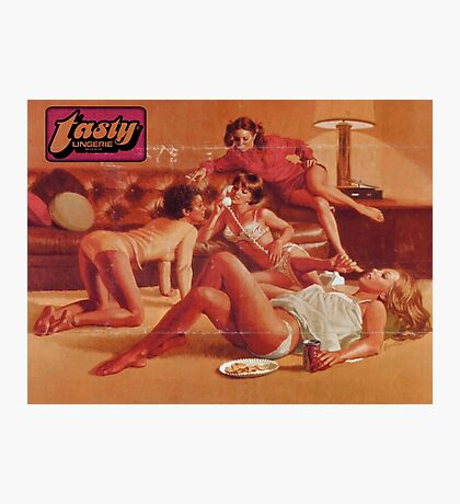 TASTY® Panty Party Photographic Print