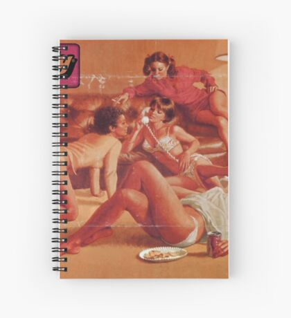 TASTY® Panty Party Spiral Notebook
