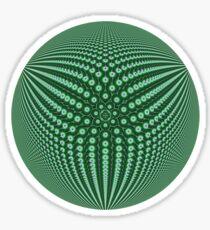 3Dphere Sticker