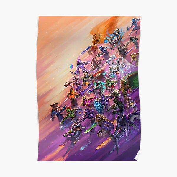 Terraria Game - Big Battle Poster