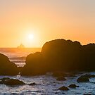 One-Eyed Willie's Pirate Ship - Ecola State Park, Oregon by Jason Heritage