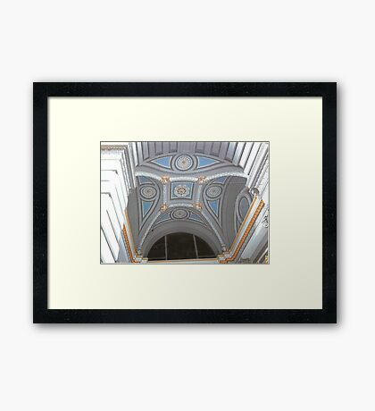 Cathedral Ceiling Framed Print