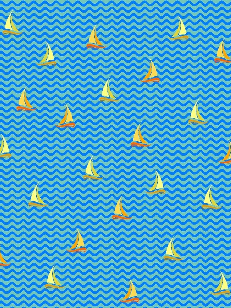 Fishing Boats by vkdezine