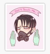 Sick (but not really) Levi Sticker