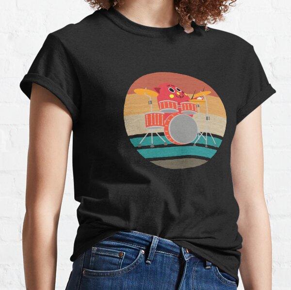 Nyango Star Mascot Drummer T-shirt Classic T-Shirt