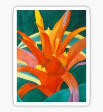 Bromeliad Glow Sticker