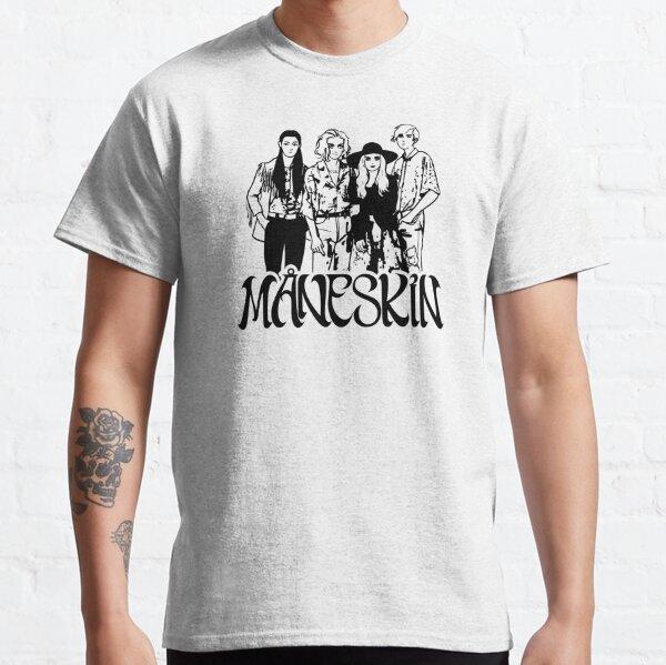 Groupe de rock Maneskin Måneskin T-shirt classique