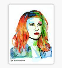 Hayley Williams fan art :3 Sticker