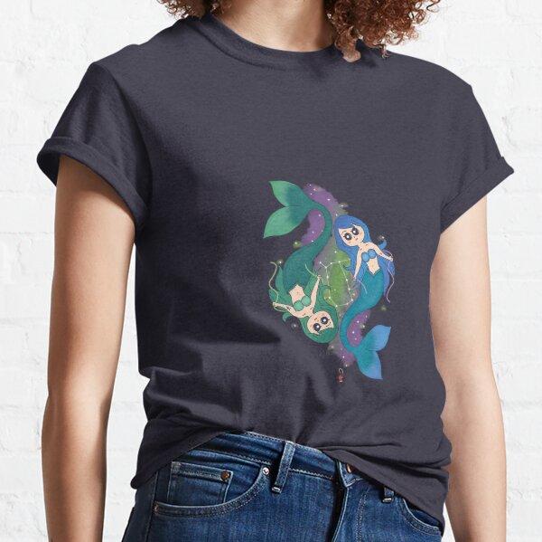 Gemini Mermaids Classic T-Shirt