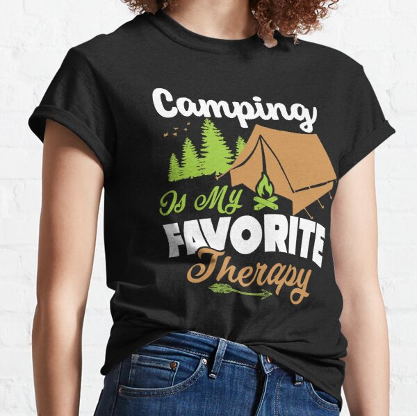 Camping is My favorite Therapy Classic T-Shirt